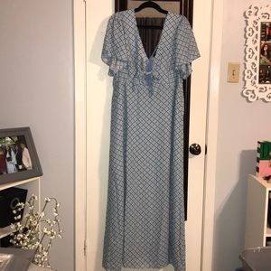 Forever 21+ Maxi Tie Top Dress